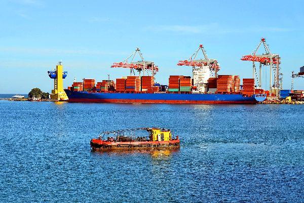 Il porto di Odessa , Ucraina