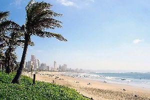 La côte de l'océan Indien , Les plages de l'océan Indien , Afrique du Sud