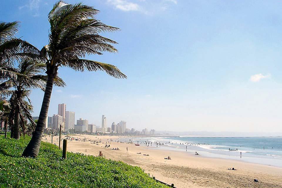 La costa dell'Oceano Indiano , Le spiagge dell'Oceano Indiano , Sudafrica