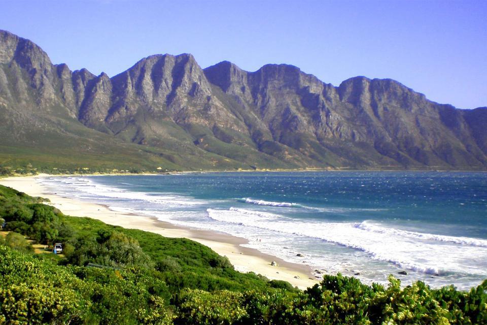 La côte de l'océan Indien , Les plages du Kwazulu-Natal , Afrique du Sud