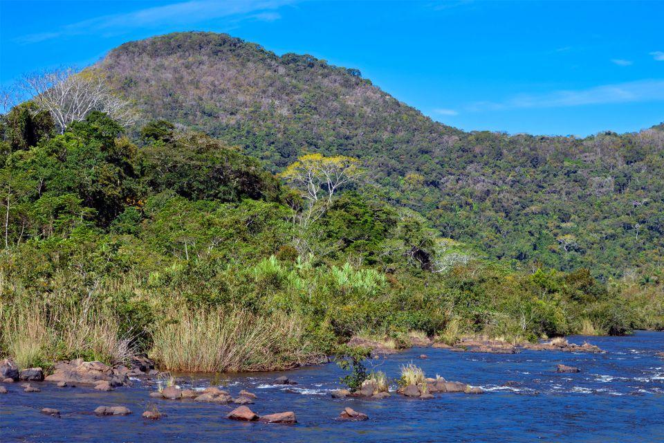 Les paysages, amérique centrale amérique bélize réserve Mountain Pine Ridge forêt parc rainforest chiquibul rivière.