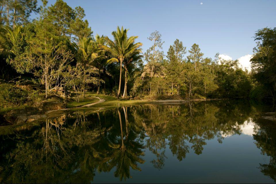 Les paysages, amérique centrale amérique bélize réserve Mountain Pine Ridge forêt parc rainforest rivière.