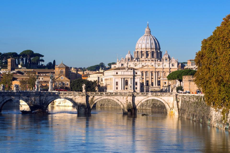 La basílica de San Pedro , Vaticano