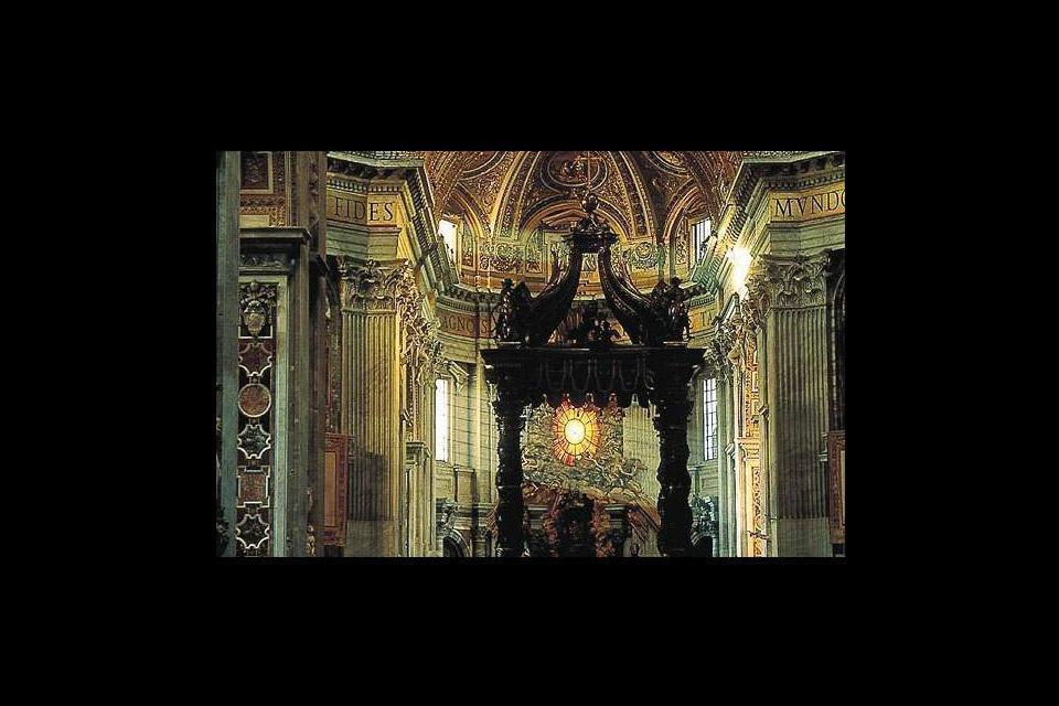 Les curiosités architecturales du Palais , Vatican