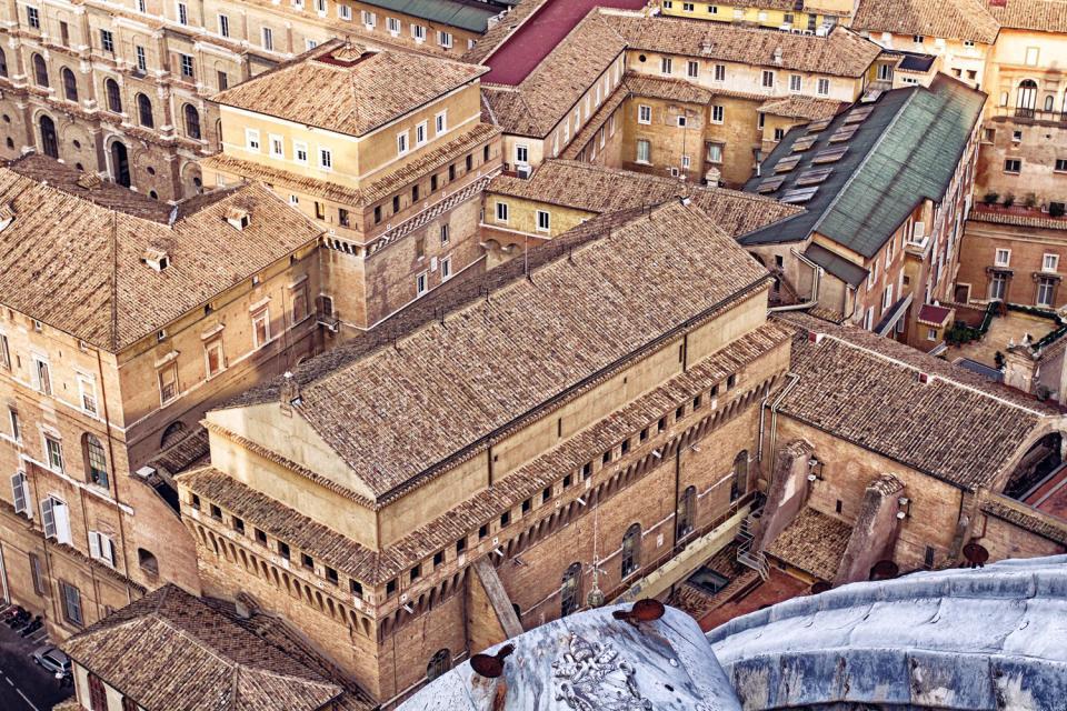 Die Sixtinische Kapelle Vatikan