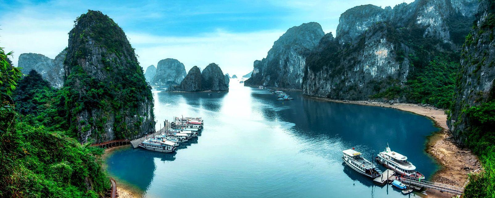 Il Tonkin , Le montagne del nord , Vietnam