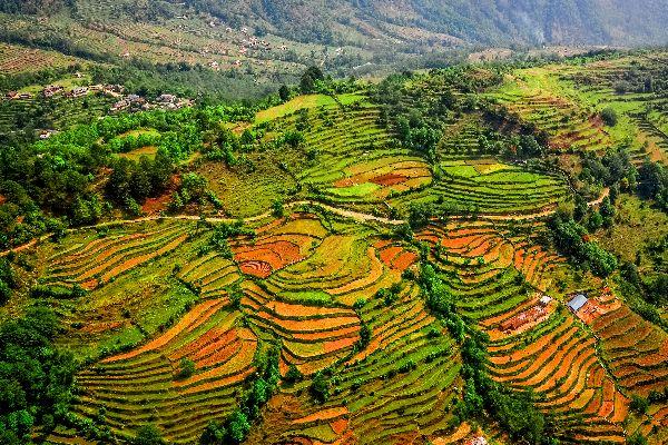 Les montagnes de l'Annam , Montagnes de l'Annam , Vietnam
