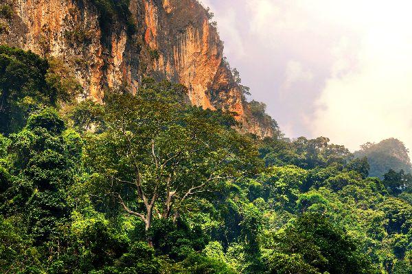 Les montagnes de l'Annam , Vietnam
