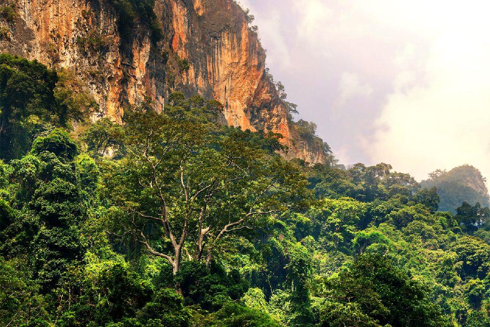 Los montes de Annam , Vietnam
