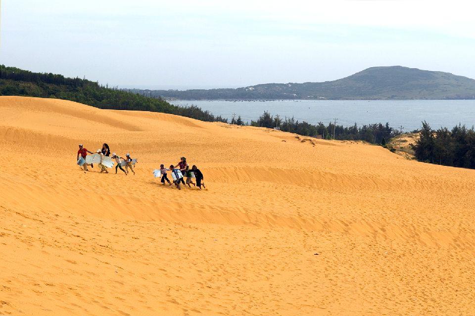 Las costas de Annam , Las dunas de arena de Hué , Vietnam