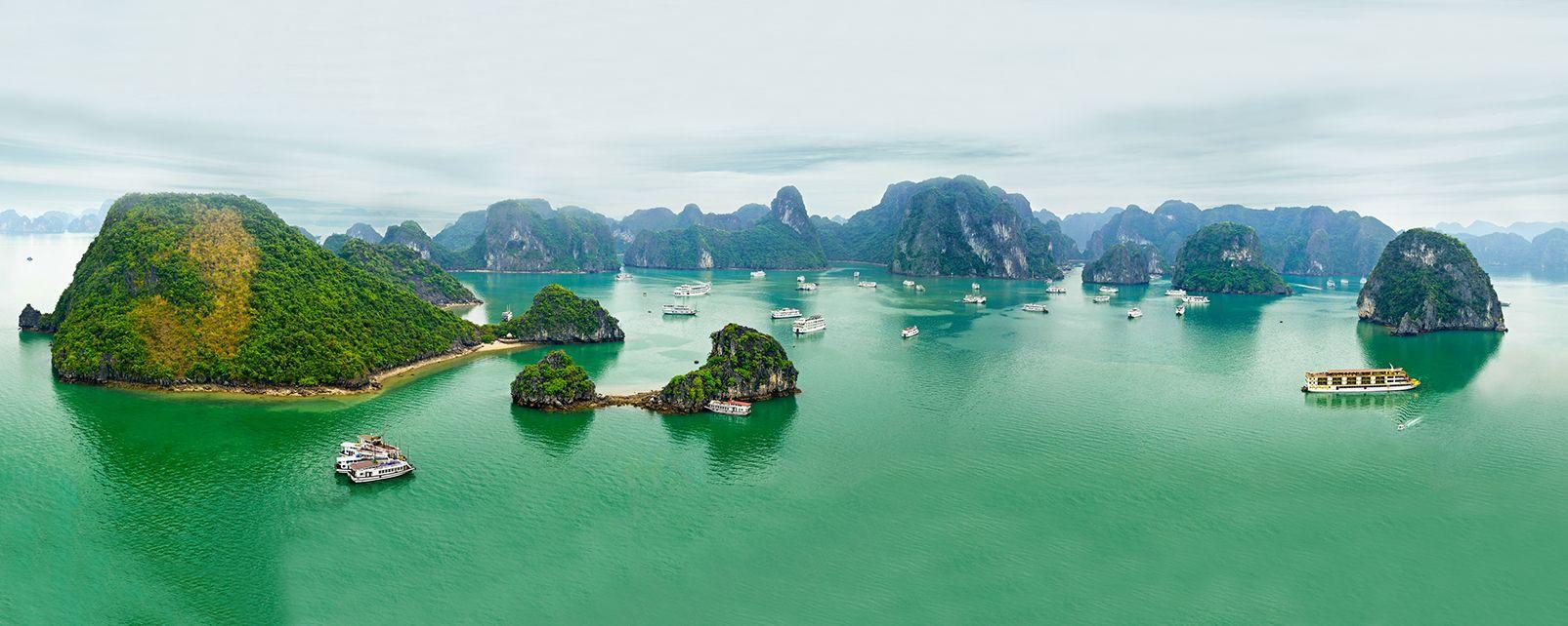 La costa, da nord a sud , Paesaggi delle coste , Vietnam