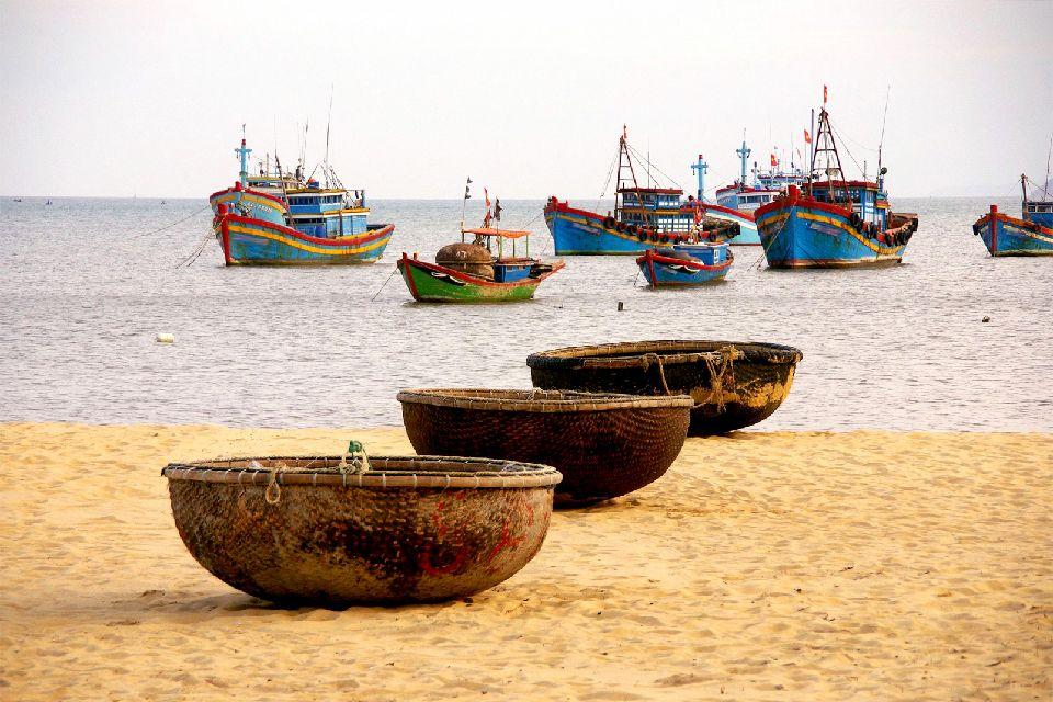 El litoral de Norte a Sur , Vietnam
