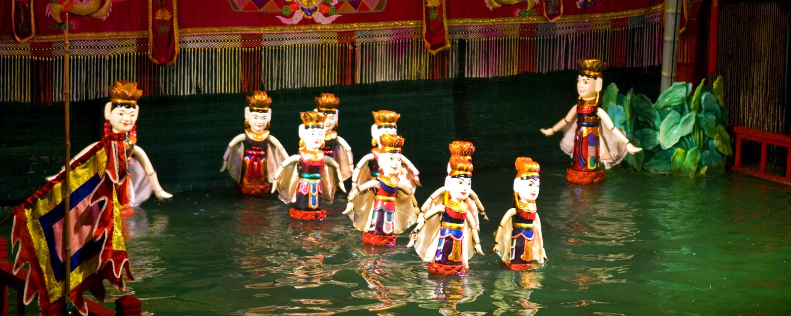 L'influence chinoise, les marionnettes , Marionnettes , Vietnam