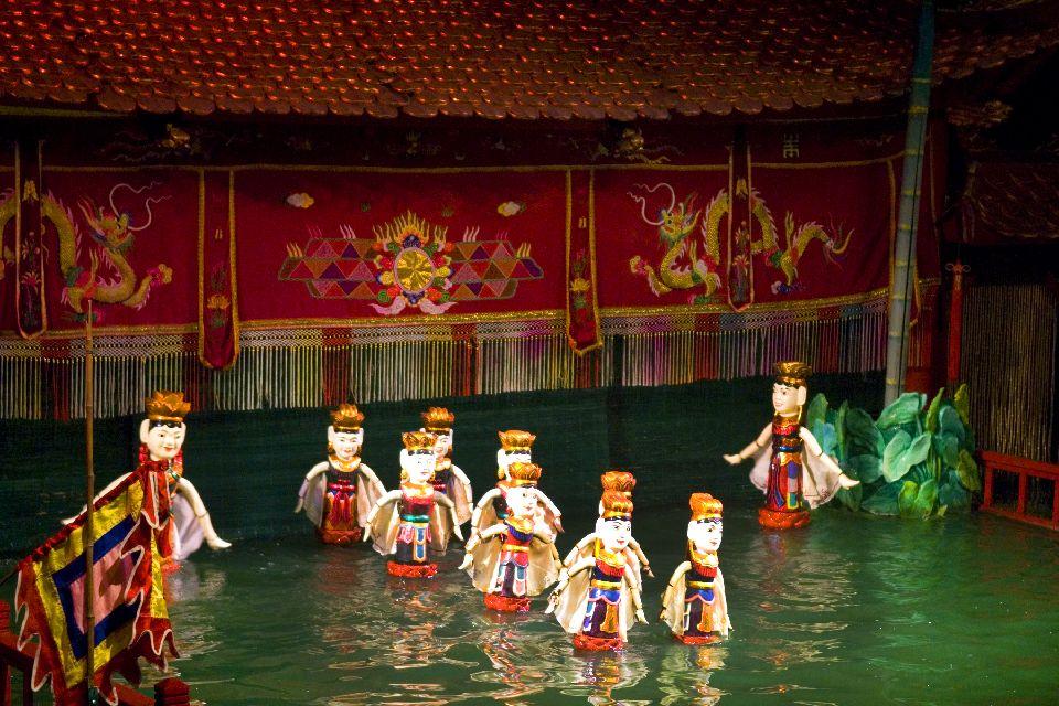 L'influenza cinese, le marionette sull'acqua , Marionette , Vietnam