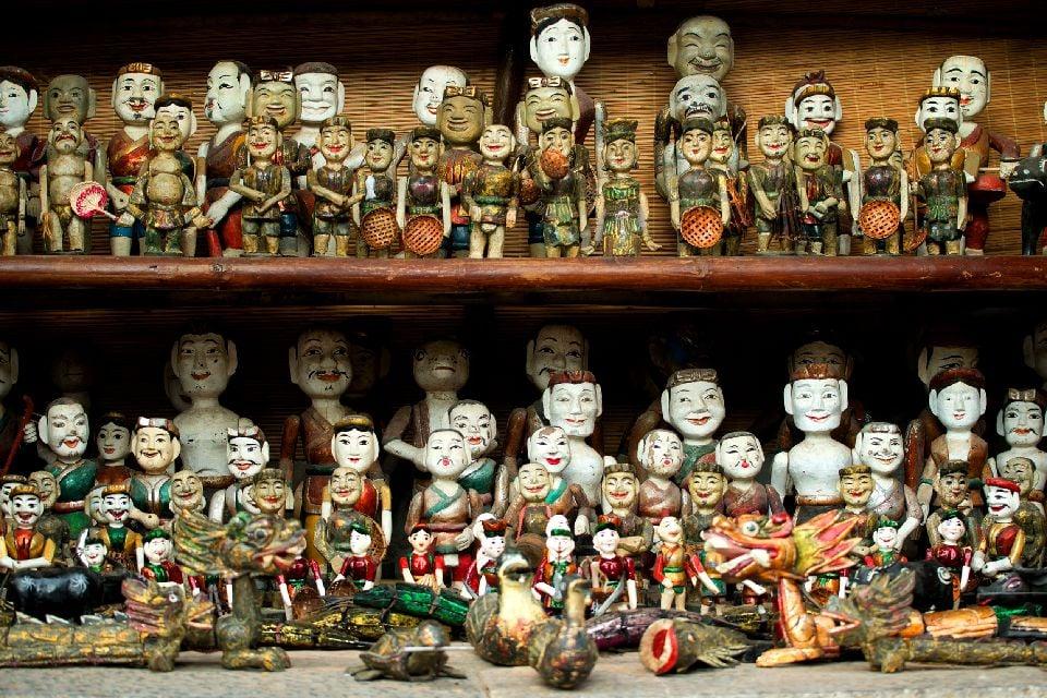 L'influence chinoise, les marionnettes , Vietnam