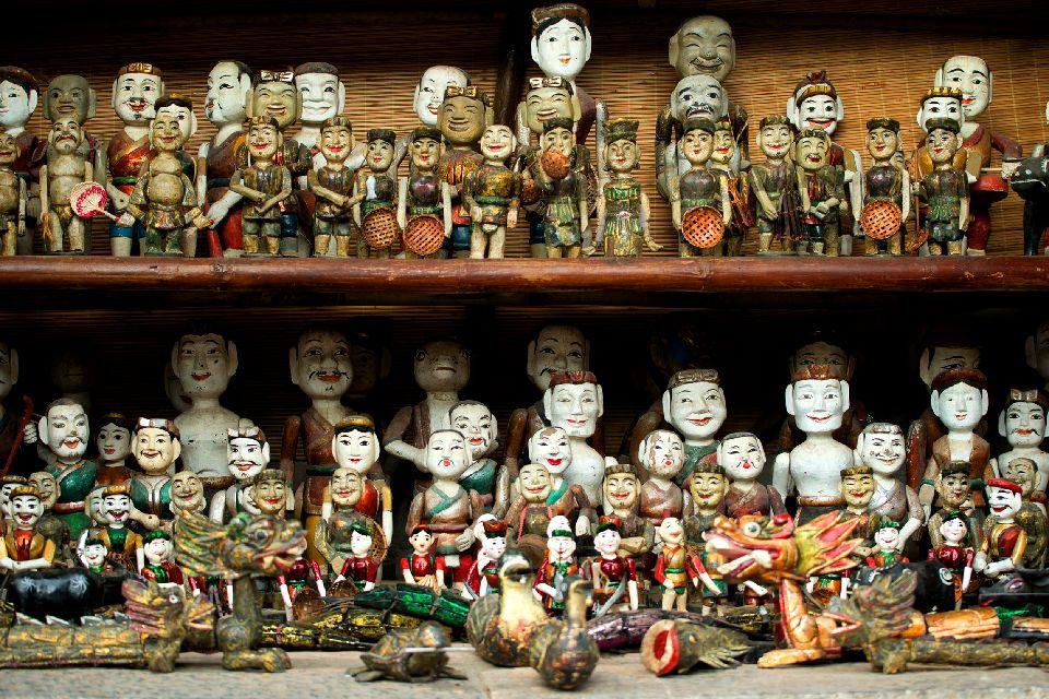 L'influenza cinese, le marionette sull'acqua , Vietnam