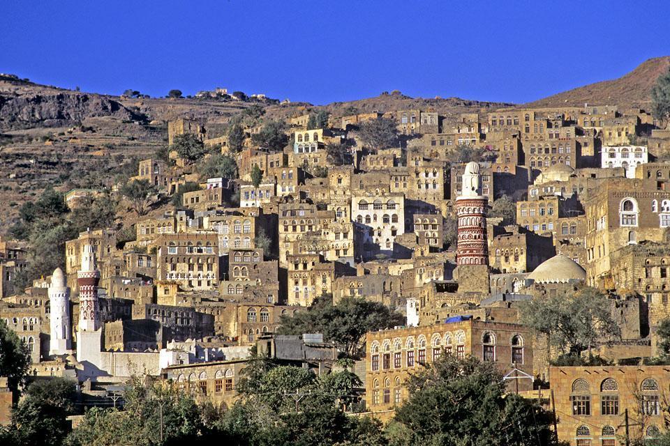 Les montagnes , Yémen