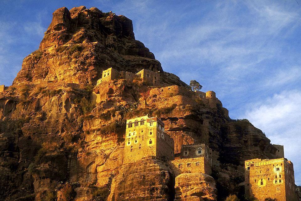 Les montagnes , Les plateaux , Yémen