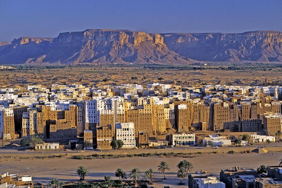 The Wadi Hadramaout valley , The Wadi Hadramaout valley. , Yémen