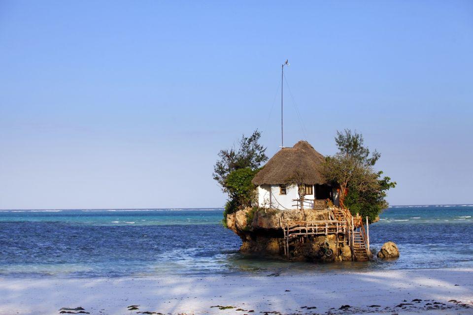 Les paysages, tanzanie, afrique, zanzibar, côte, océan indien, pingwe, restaurant, plage, mer