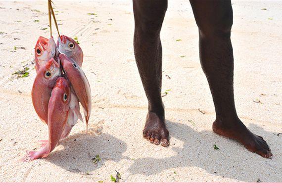 La larga playa de Nungwi, La costa del noroeste, Las costas, Zanzibar