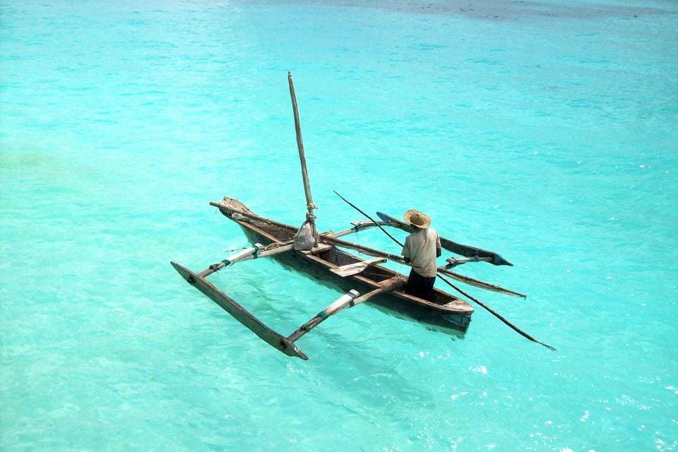 Los dhow de Nungwi, La costa del noroeste, Las costas, Zanzibar