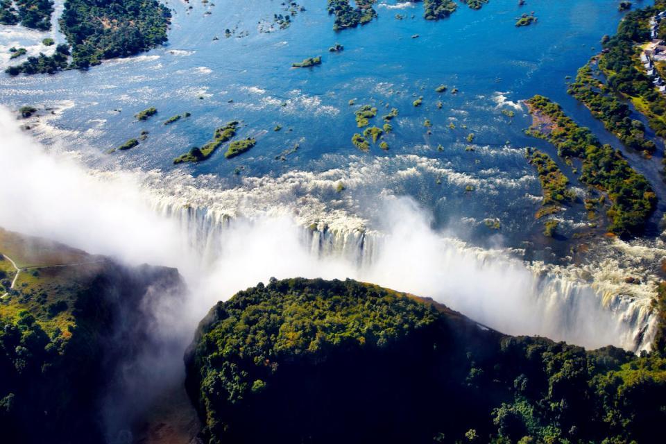 Le cascate Vittoria , Zimbabwe