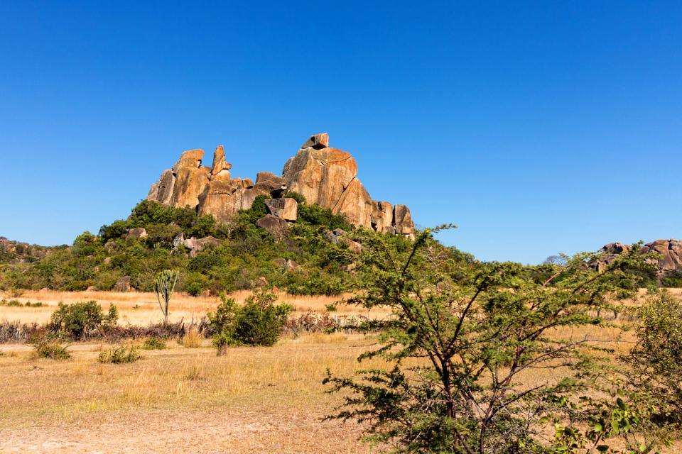 El Parque Nacional Matopos , El Parque Nacional de Matopos , Zimbabwe