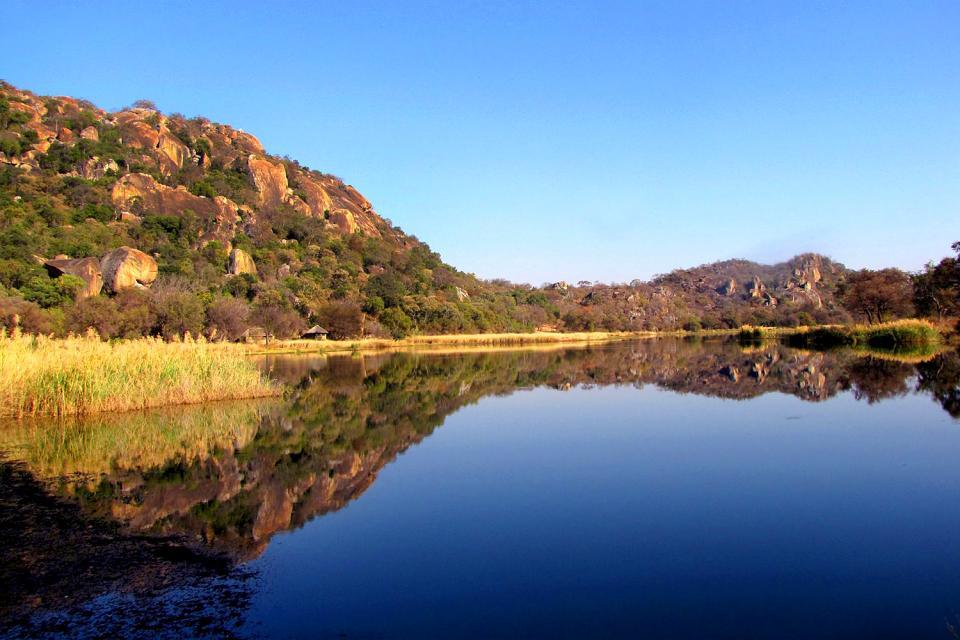 El Parque Nacional Matopos , Zimbabwe