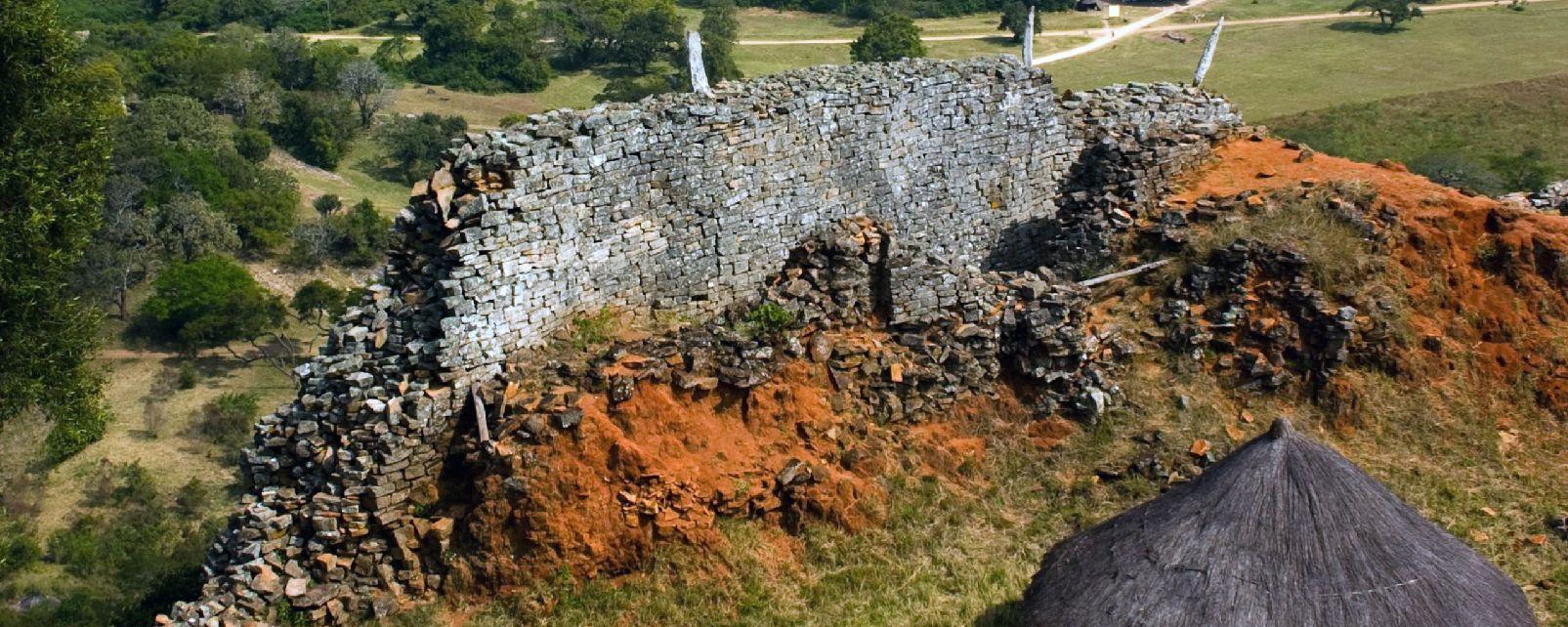 Les ruines de Great Zimbabwe , Zimbabwe