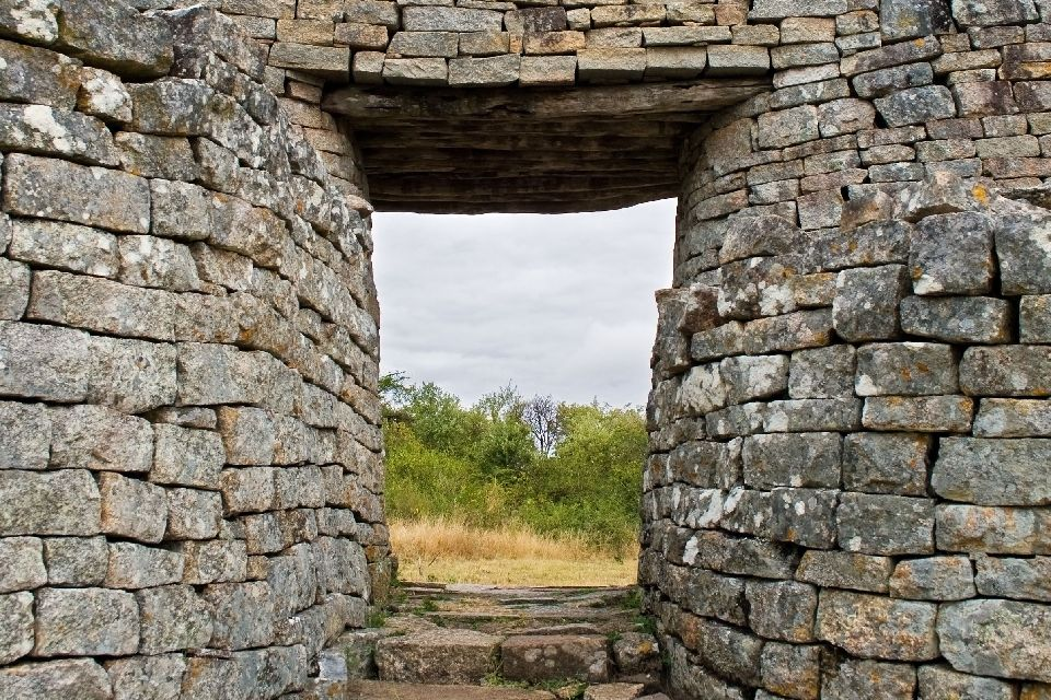 Las ruinas del Great Zimbabwe , Zimbabwe