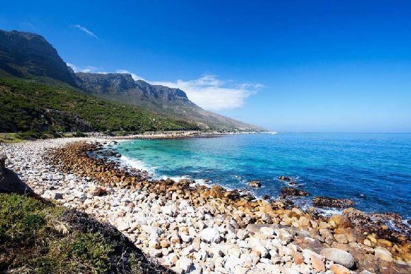 Die Küste der Halbinsel , Hout Bay , Südafrika