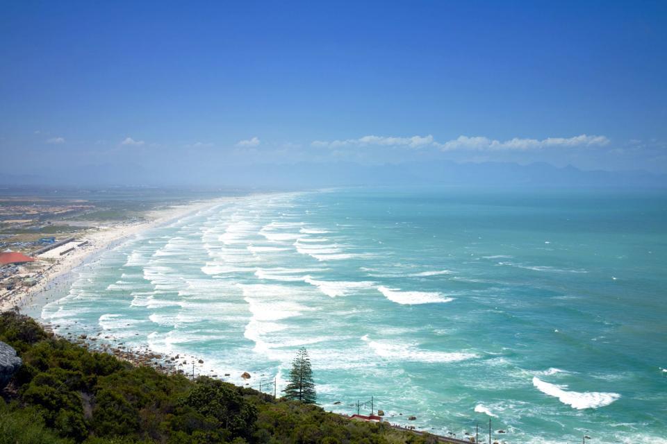 La costa della penisola , Le pianure del Capo , Sudafrica