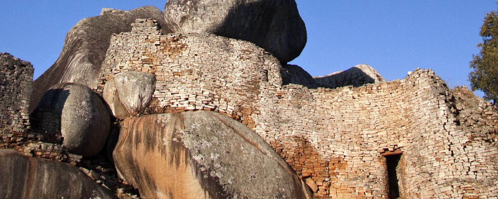 Les ruines de Khami , Zimbabwe