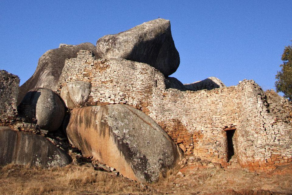 Las ruinas de Khami , Zimbabwe