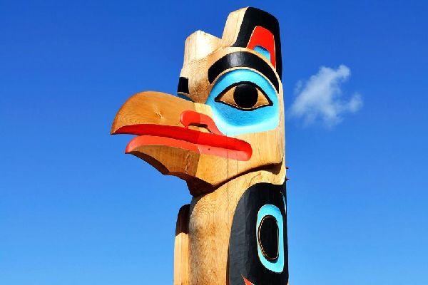 Die indianische Kunst , Amerindianische Kunst , Kanada