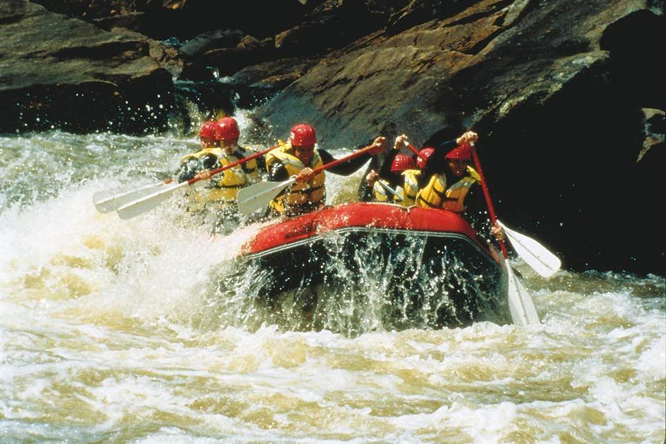 Summer activities , Canyoning , Canada