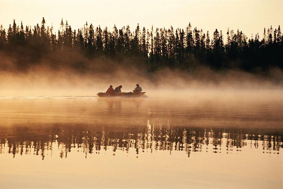 Summer activities , Fishing , Canada
