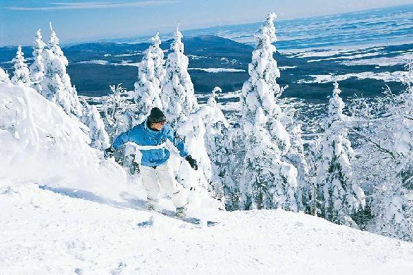 Attività invernali , Sciare in Québec , Canada