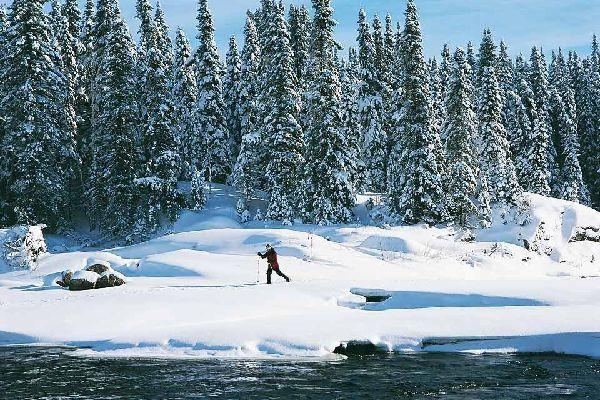 Attività invernali , Sci di fondo e racchette , Canada