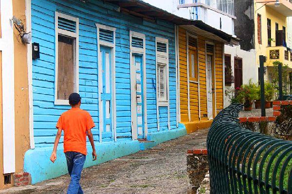La Zona Colonial, el casco histórico , Un lugar de paseo popular , República Dominicana