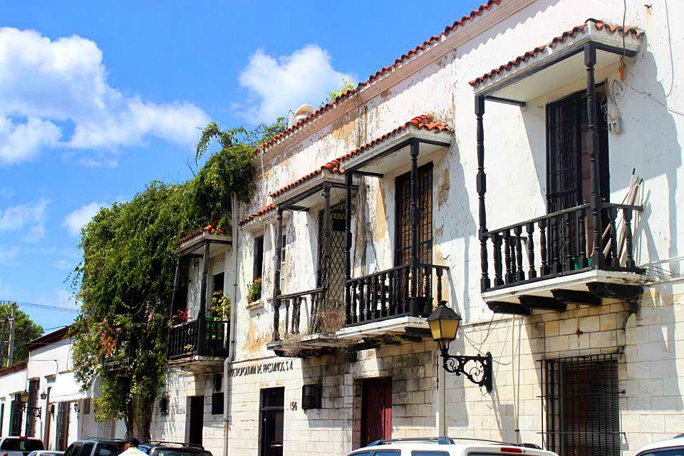 La Zona Colonial, el casco histórico , Las ruinas del monasterio de San Francisco , República Dominicana