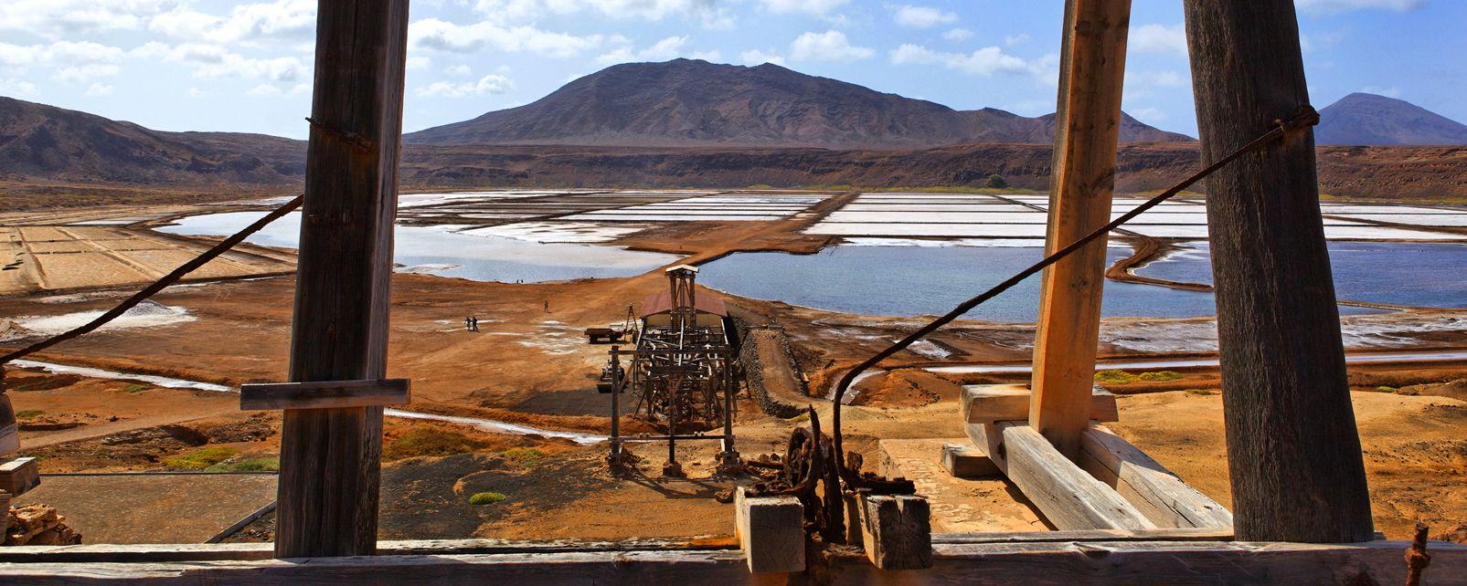 Die Insel Sal: Die Salinen , Pedra de Lume , Kap Verde