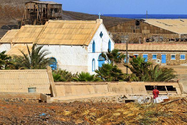 Die Insel Sal: Die Salinen , Der Ort Pedra de Lume , Kap Verde