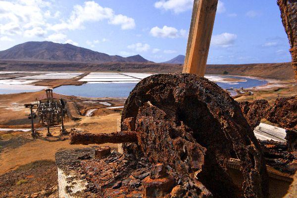 Die Insel Sal: Die Salinen , Die Salinen von Pedra de Lume , Kap Verde