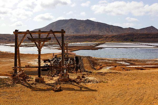 Die Insel Sal: Die Salinen , Die Salinen von Sal , Kap Verde