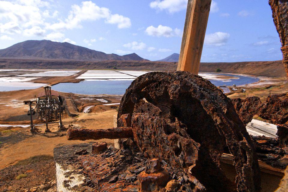 Isola di Sal: Le Saline , Saline di Pedra Lume , Capo Verde
