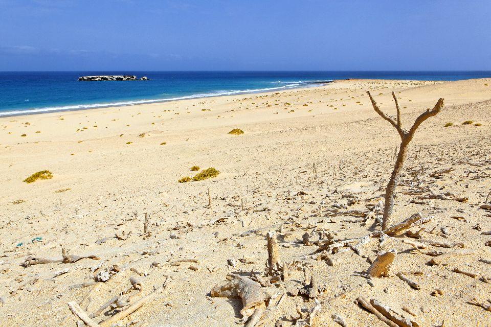 Insel Sal: Buracona , Die Insel Curral Velho , Kap Verde