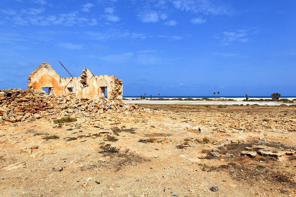 Isola di Sal: Buracona , L'antico villaggio di Curral Velho , Capo Verde