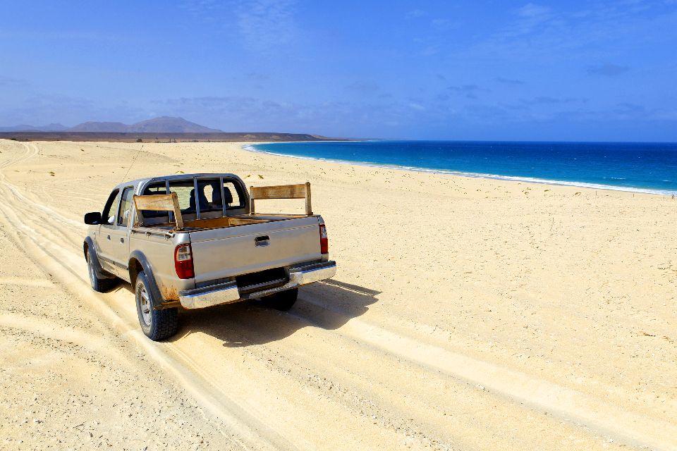 Insel Sal: Buracona , Düne auf Curral Velho , Kap Verde